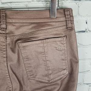 RAG & BONE | rose metallic stretch legging pants